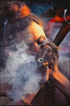 Mahakal Shiva Lord Aghori Clay Pipes Tattoo