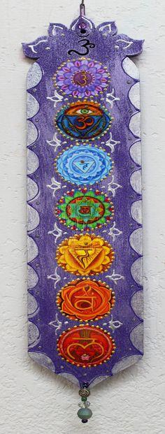 Chakra Plaque meditation plaquezen plaque yoga by LoriFelixArtwork (Beauty Soul Painting) Meditation Space, Healing Meditation, Yoga Meditation, Meditation Quotes, Meditation Symbols, Chakra Art, Chakra Healing, Reiki Chakra, Zen Yoga