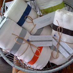 SEERSUCKER STRIPE TURKISH TOWEL. $48.00