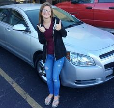 Congratulations to Haleigh Matherly on her 2010 Chevrolet Malibu LT.  We're excited with you about this sweet ride!  Thanks a bunch to you and your family for your business. - Roger Keck