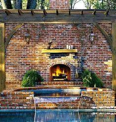 Gas-lit lanterns and a smooth bluestone terrace #garden