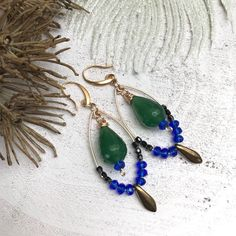 Edelsteen oorbellen Kathy Stone Jewelry