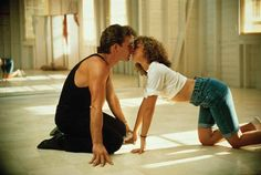"""Dirty Dancing: With Patrick Swayze (played as Johnny Castle) and Jennifer Grey (Frances """"Baby"""" Houseman) Good Movie! Patrick Swayze is dearly missed by many and was a wonderful talented dancer. Jennifer Grey, Chick Flicks, See Movie, Movie Tv, Movie Scene, Movies Showing, Movies And Tv Shows, Romantic Movie Quotes, Bon Film"""