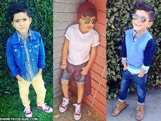 garoto na moda