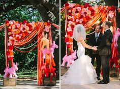 hah... pinatas?  ;)  (i didn't even notice them for a secont cause i was looking at the ribbons and flowers.