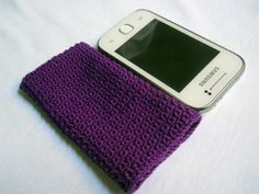 Crochet Donna's Phone Cozy #3 Free Pattern