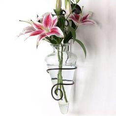 Flower Sconces Wall Vase