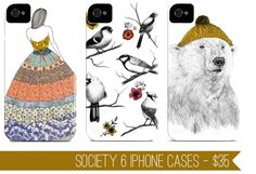 http://ohthelovelythings.blogspot.com/2011/11/society6-iphone-cases.html