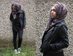 Image result for maxi skirt hijab and converse