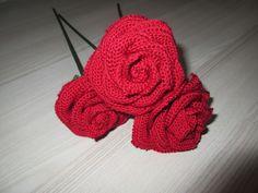 Roses Crocheted Flowers, Roses, Beanie, Hats, Handmade, Crochet Flowers, Hand Made, Pink, Hat