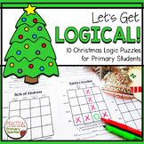 Christmas Logic Puzzles Christmas Activities, Christmas Themes, Critical Thinking Activities, Christmas Puzzle, Logic Puzzles, Early Finishers, Problem Solving Skills, Math Stations, Gift Exchange