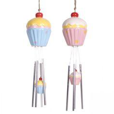 Cupcake Wind Chime