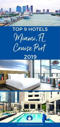 The best hotels near Miami cruise port. Our complete list of where to stay when you cruise from the Miami Cruise Port updated for Cruise Miami, Bahamas Cruise, Best Cruise, Cruise Port, Cruise Tips, Cruise Travel, Caribbean Cruise, Disney Travel, Disney Cruise