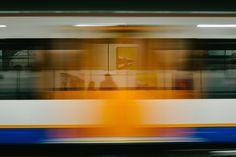 Speedy subway train photo by Peter Clarkson ( on Unsplash