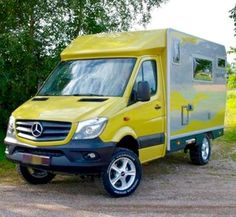 Love the bright colour scheme on this Bimobile Sprinter