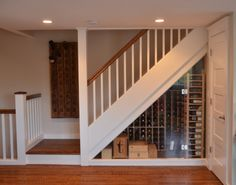 From Peter Conrad Tea: This is the cellar I designed and had built into my wife's and my condo in Newport