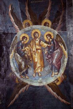 Byzantine Icons, Byzantine Art, Christ, Russian Icons, Art Icon, Orthodox Icons, Fresco, Saints, Images