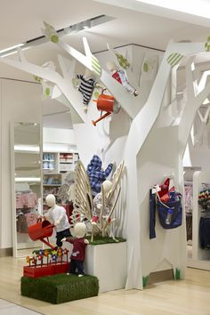 Myer Melbourne - Red Design Group Red Design, Department Store, Melbourne, Loft, Group, Bed, Furniture, Home Decor, Decoration Home