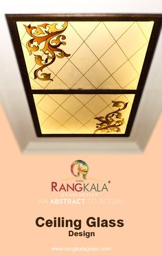 We create to customize the design as per your choice.  we have more than thousands of designs. just visit our website www.rangkalaglass.com Glass Ceiling, Ceiling Decor, Ceiling Design, Glass Design, Frosted Glass, Glass Panels, Contemporary, Modern, Website
