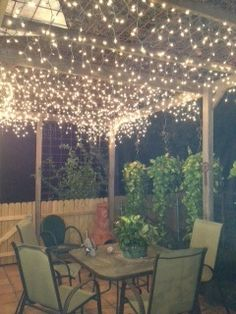 Fairy Lights For Back Porch