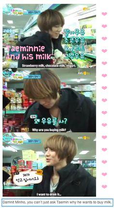 """Minho & Taemin: """"SHINee's Hello Baby""""."""