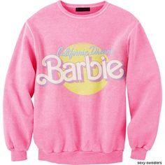 California Dream Barbie Sweatshirt