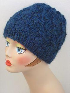 Moorish Lattice Hat By Gretchen Tracy - Free Knitted Pattern - (ballstothewallsknits)