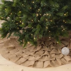Features:  -Ruffled collection.  -Design holiday tree skirts.  Product Type: -Tree Skirts.  Holiday Theme: -Yes.  Seasonal Theme: -Yes.  Holiday: -Christmas.  Season: -Winter. Dimensions:  Overall Hei