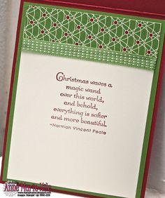Stampin' Anne: Chock-Full of Holiday Cheer for Paper Players #97