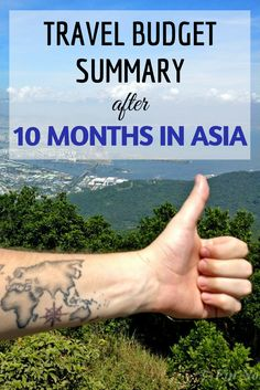 How much money should you budget for your Asia backpacking trip? Read how much we spent during our 10-month travels!  #budgettravel #travelblog #budgettips #traveltips
