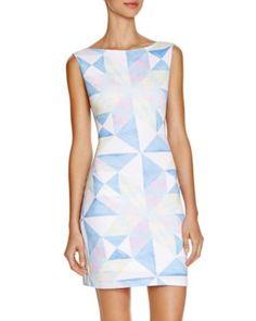 Mara Hoffman Fractals Printed Cutout Dress | Bloomingdale's