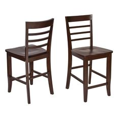 These lovely chairs will add a strong and attractive accent to any room in your home, but specifically the dining room. Featuring a unique design, these chairs will catch the eye of any guest who enters your home or living space.