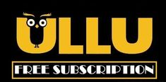 Ullu App Free Subscription & Redeem Codes May 2020 - buyfreeecoupons Download Video, 4g Internet, Free Subscriptions, Web Series, How To Know, Online Video, Graffiti Drawing, Art Drawings