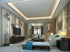 The Home Living Room Design Fresh in Classic Designs for Brilliant JSDLANU Game - homevignette House Ceiling Design, Ceiling Design Living Room, Bedroom False Ceiling Design, Ceiling Light Design, Ceiling Decor, Living Room Designs, House Design, Drawing Room Design, Modern Bungalow House