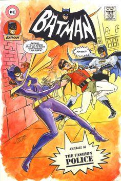 Jonathan Case Batman '66 commission