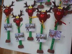 ταρανδακια ημερολόγια Winter Christmas, Christmas Time, Christmas Ideas, Christmas Crafts, Xmas, Babysitting Activities, Christmas Calendar, Clock, School