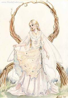 Sewn together with spiderwebs by NicoleCadet.deviantart.com on @deviantART