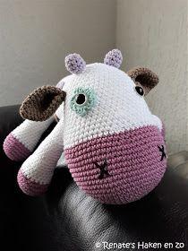 Koe / crochet cow