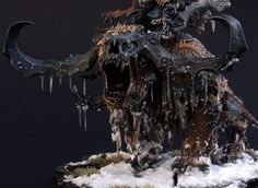 icicles tutorial Warhammer Paint, Warhammer Fantasy, Warhammer 40k, Warhammer Terrain, Fantasy Paintings, Mini Paintings, Minis, Space Wolves, Miniture Things