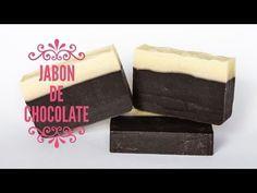 Cómo hacer jabón de Chocolate con éxito - YouTube