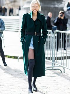 Model-Off-Duty Style Is Not What It Used to Be (It's Even Better) via @WhoWhatWearUK