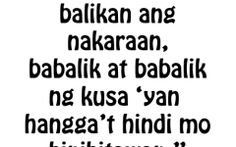 Love Quotes For Her Tagalog Version