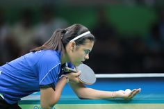 BARRA DA TIJUCA, RIO DE JANEIRO, BRAZIL AUGUST 6th: Adriana Diaz of PUR during the match of Table Tennis as part of the Olympic Games held in RioCentro Pabellon 3 in Barra Da Tijuca, Rio de Janeiro, Brazil. (PHOTO BY VICTOR STRAFFON/STRAFFON IMAGES/MANDATORY CREDIT/EDITORIAL USER/NOT FOR SALE/NOT ARCHIVE)