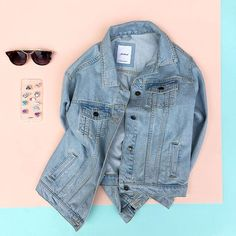 Update your: #OOTD #subdued #subduedstyle #denimjacket #accesories #musthave