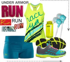 """Under Armor: Run"" by kenleaherndon on Polyvore"