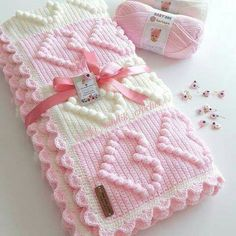 Farewell Ya Şehr-i Ramazan💕 The peace of the development is the sadness of your departure . Bobble Stitch Crochet Blanket, Baby Girl Crochet Blanket, Easy Crochet Blanket, Crochet Quilt, Knitted Baby Blankets, Crochet Granny, Crochet Square Patterns, Crochet Blanket Patterns, Baby Patterns