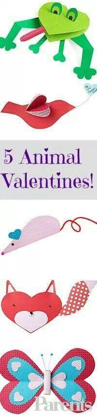 Animal Valentine's