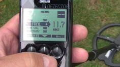XP DEUS VDI Numbers 12khz Setting