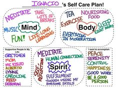 Making a Self-Care Plan for You and Your Clients! During my last semester in graduate school, I developed an intervention I am proud to share with you all. It's a self-care plan that I implement with my clients, as well as in my personal life. Counseling Activities, Art Therapy Activities, Work Activities, School Counseling, Therapy Ideas, Play Therapy, Grief Counseling, Elementary Counseling, Health Activities