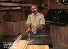 How to Use a Table Saw: Ripping Boards Safely Woodworking Techniques, Woodworking Projects, Table Saw Safety, Rip Cut, Miter Saw, Garage Design, Safety Tips, A Table, Wood Projects